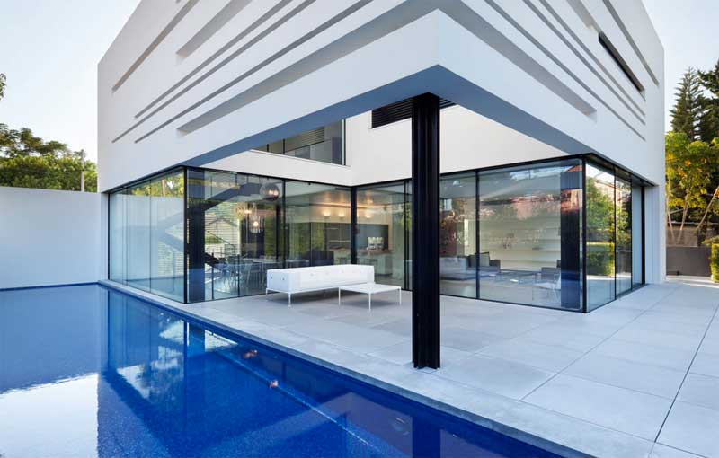 Finestre in legno-alluminio Modena