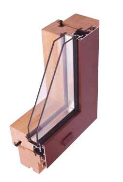 serramenti in legno-alluminio Mantova