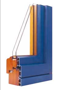 infissi in legno-alluminio Mantova
