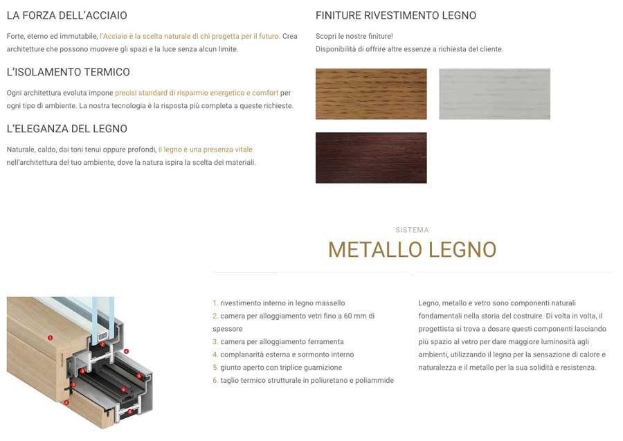 finestre blindate in metallo e legno